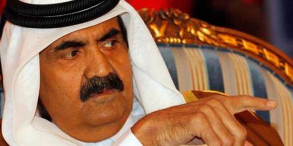Hamad Bin Khalifa Al Thani, l'émir du Qatar joue dans la cour des grands Emirat minuscule à l'appétit vorace