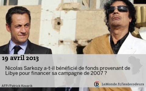 Urgent-Libye: Des révélations sur Sarkozy de l' ancien numéro un du CNT