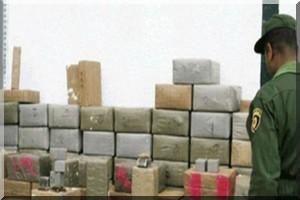 Mauritanie: saisie de 370 kilos de haschich dans un camion en provenance du Maroc