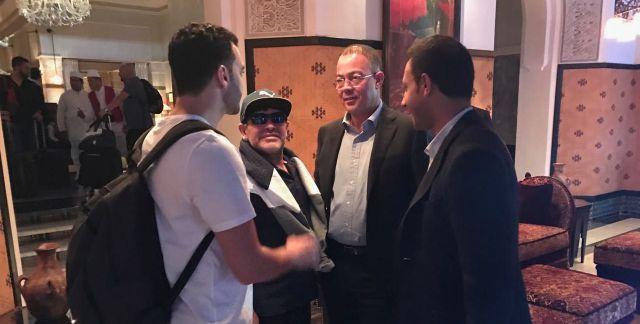 Match de gala à Laâyoune: Maradona dément avoir touché de l'argent