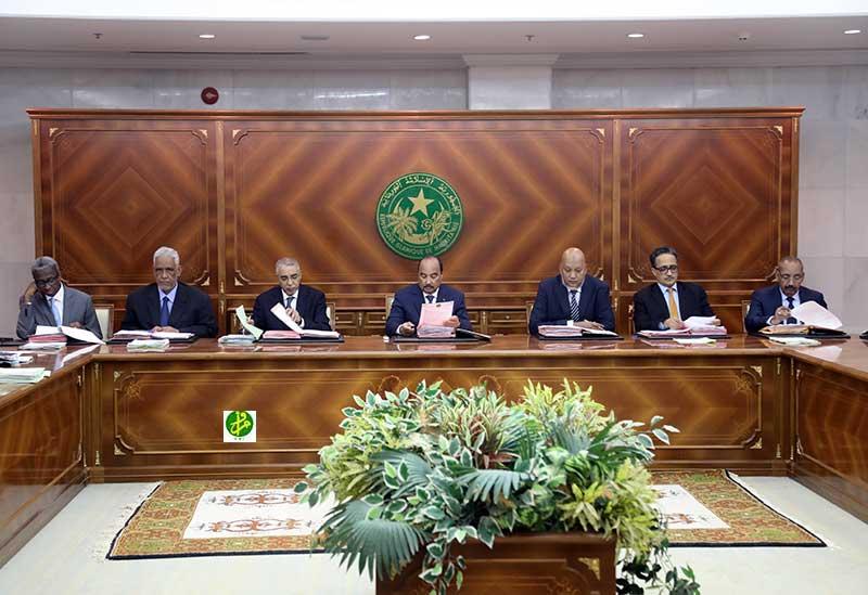 Mauritanie:Communiqué du Conseil des Ministres du Jeudi 08 Février 2018