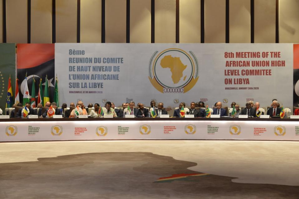 LYBIE: CLÔTURE DE LA 8E RÉUNION DU COMITE DE HAUT NIVEAU DE L'UNION AFRICAINE SUR LA LIBYE.
